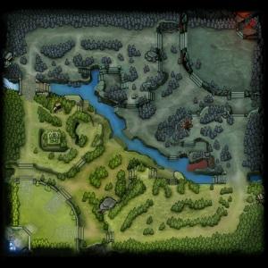 Мини-карта Дота 2 6.82