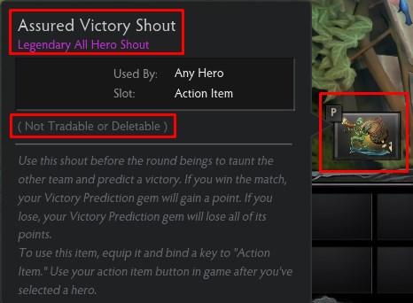 """Assured Victory Shout - кричалка """"Уверенность в победе"""""""