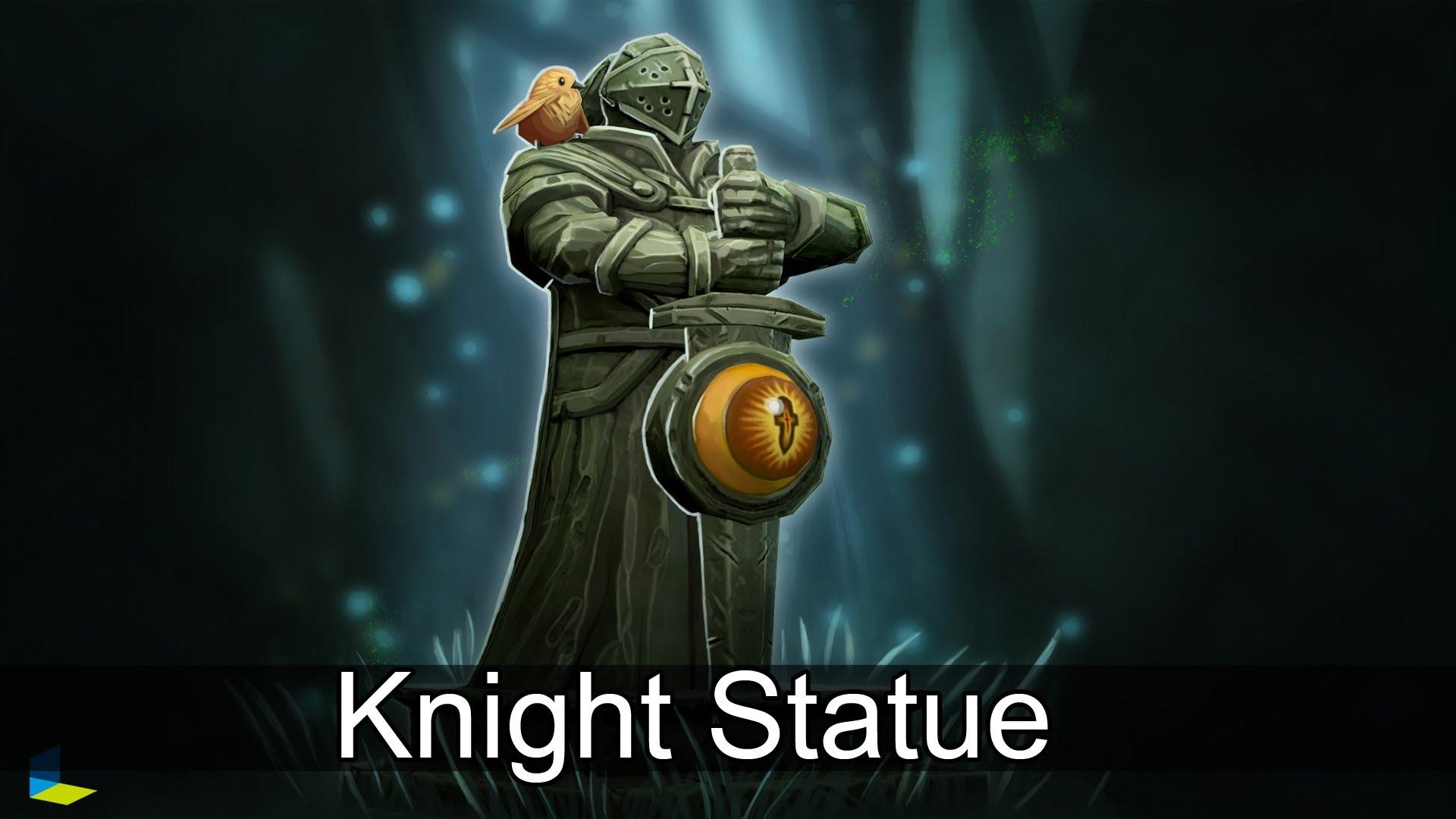 Вард Knight Statue Dota 2